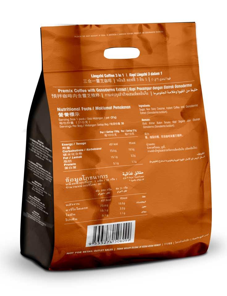 DXN 3 in 1 kávé
