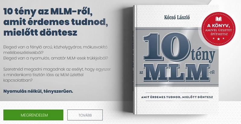 10 tény az MLM-ről! - Kócsó László könyve